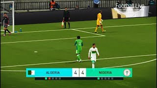 PES 2018 | ALGERIA vs NIGERIA | Penalty Shootout | Gameplay PC