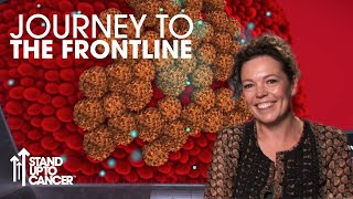 Making Chemotherapy More Effective with Olivia Coleman | 360 Video | Stand Up To Cancer