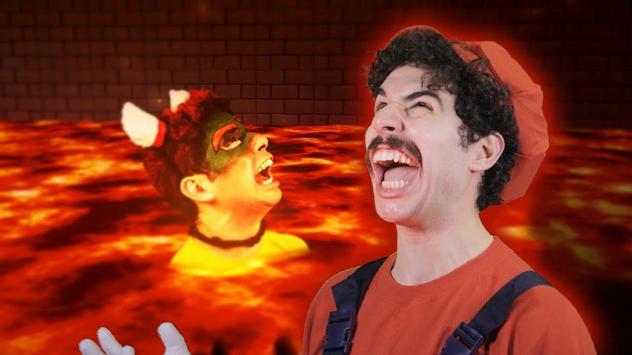Super Mario vs BOWSER
