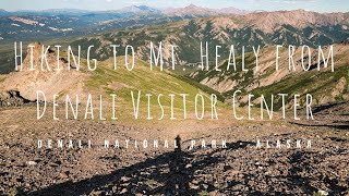 Hiking to the top of Mt. Healy - Denali National Park Alaska