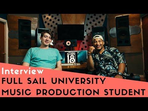 Full Sail University Music Production Student Interview Charles Studio 18 Orlando FL Manager