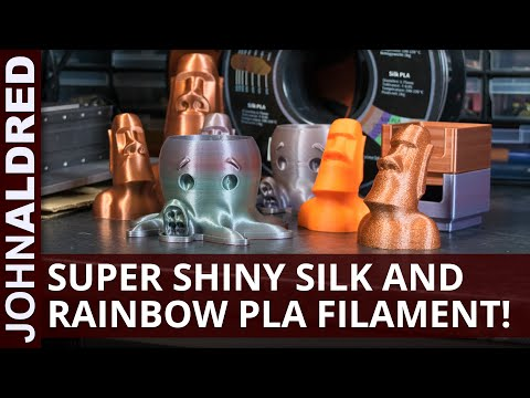 Eryone Silk, Rainbow and Regular PLA filament for prototyping 3D prints with the Snapmaker