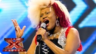 Souli Roots sings Three Little Birds by Bob Marley - Arena Auditions Week 3 - The X Factor 2013