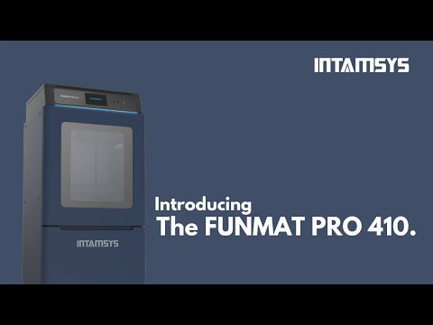 Introducing the FUNMAT PRO 410, an All-in-One Solution Designed for Industrial Applications