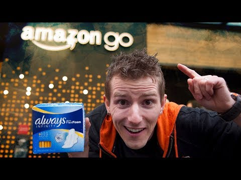 We Stole Tampons from the Cashierless Amazon Go Store