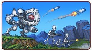 Cortex Command - галактическая война