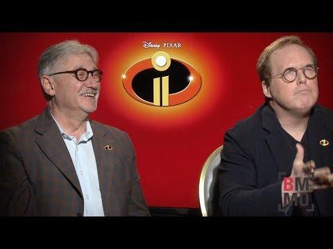 Brad Bird & John Walker Interview - Incredibles 2