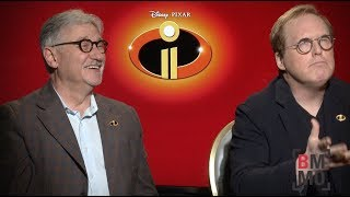 Brad Bird & John Walker Interview - Incredibles 2