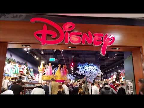 Disney Store @ Mall of Scandinavia, Stockholm, Sweden
