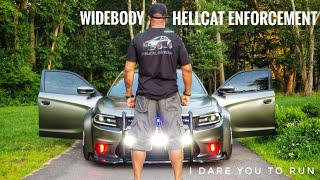 This Widebody Dodge Charger Hellcat Is Your Worst Nightmare 2.0