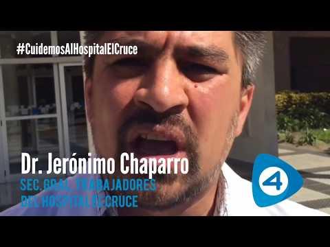 #CuidemosAlHospitalElCruce: ruidazo de trabajadores contra el 15% de aumento salarial