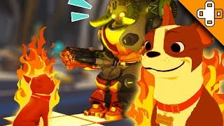 ORISA *BURNS A PUPPY ALIVE!* WTF BLIZZARD!? Overwatch Funny & Epic Moments 466