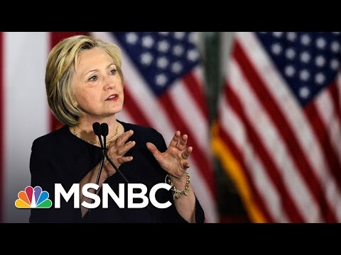 Terry McAuliffe Indicates Hillary Clinton Could Flip-Flop On TPP | MSNBC