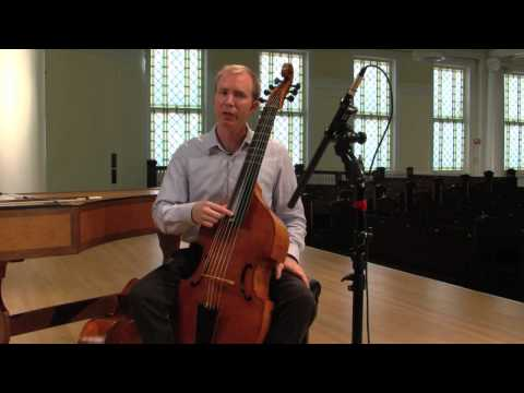 The Viola da Gamba and the Cello: Musical Cousins
