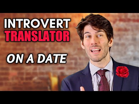 If introverts had a translator on a date...