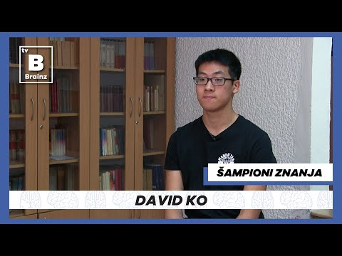 Šampioni Znanja - David Ko