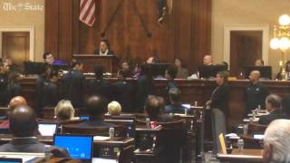 USC Coach Dawn Staley addresses SC General Assembly, applauds lawmakers for removing Confederate ...