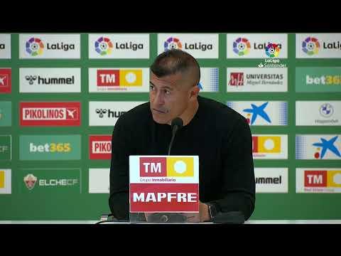 Rueda de prensa Elche CF vs Cádiz CF