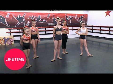 Dance Moms: Dance Off for Maddie's Spot (Season 4 Flashback) | Lifetime