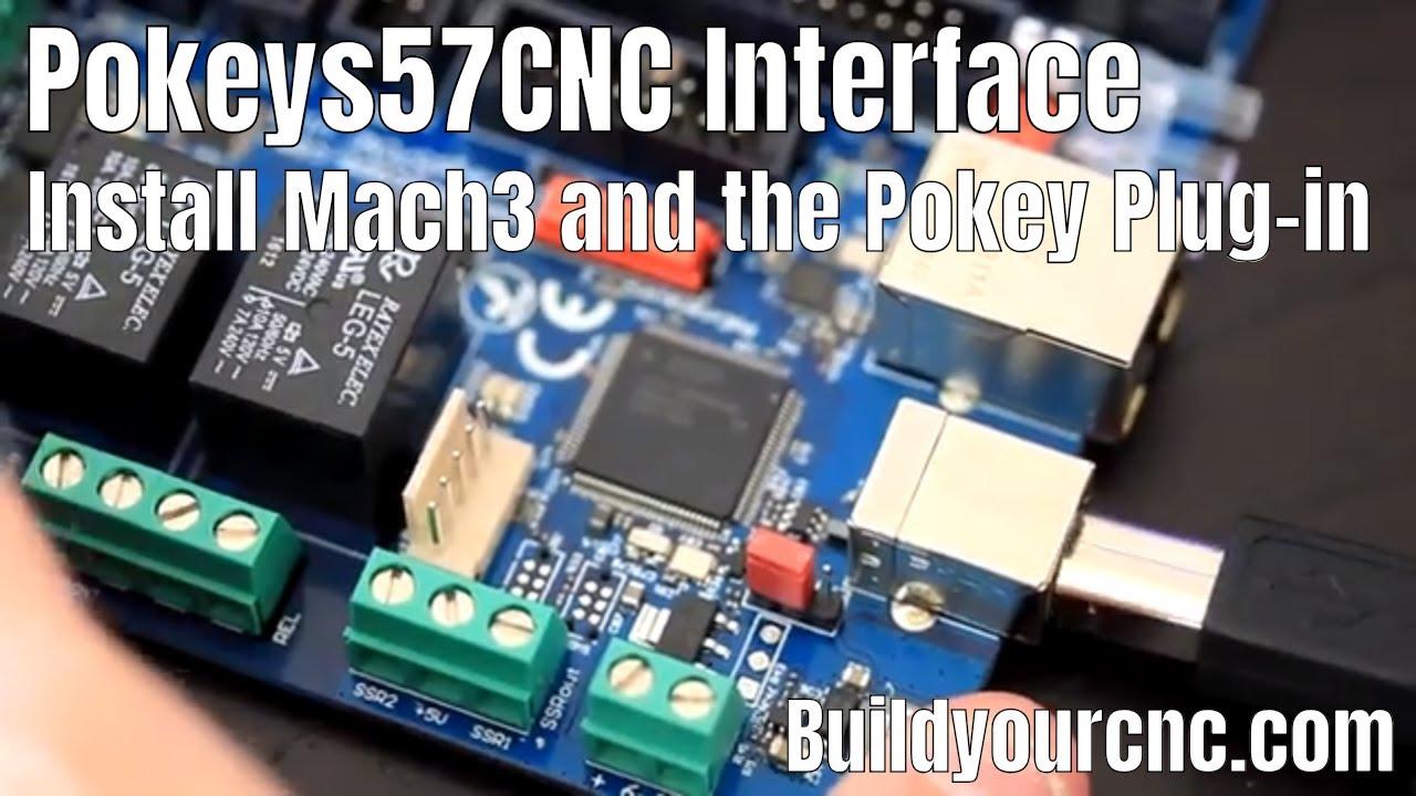BuildYourCNC - USB and Ethernet CNC Control (Pokeys57CNC)