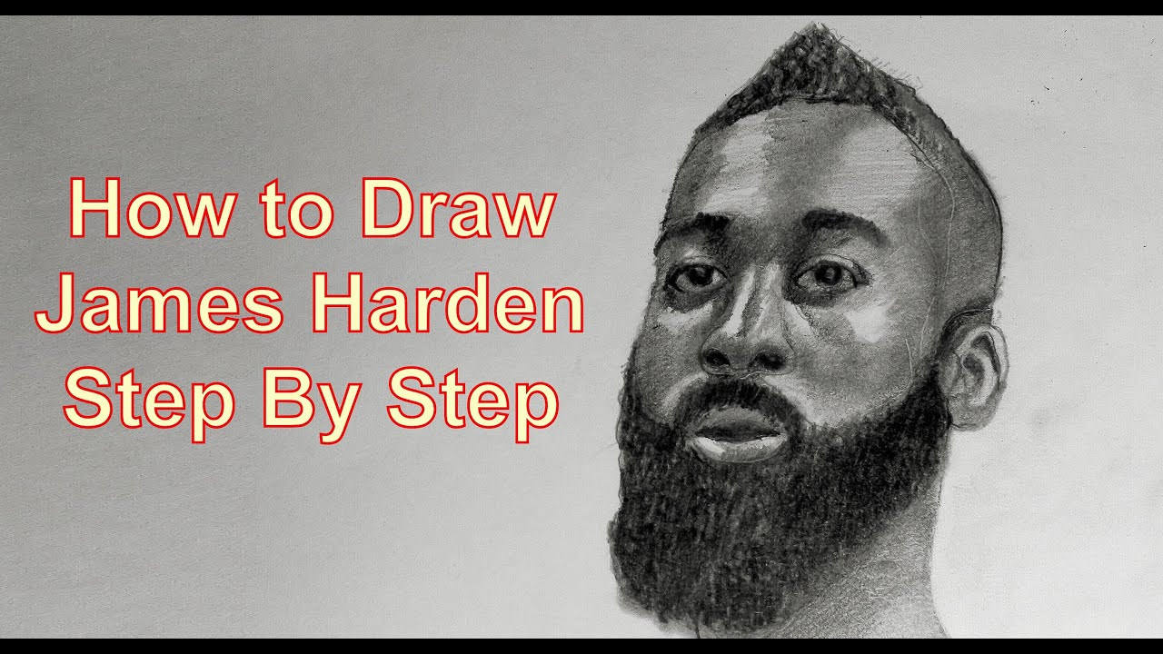 YouDraw: How To Draw James Harden Step by Step