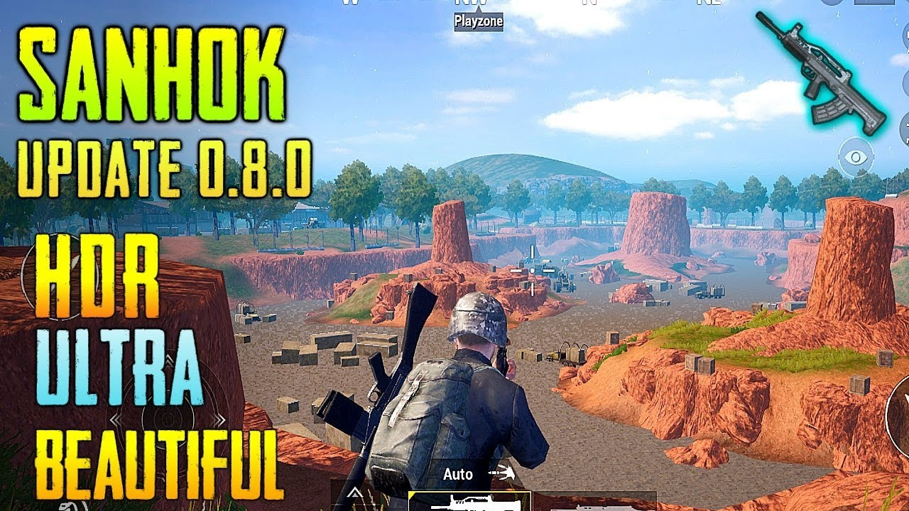 Pubg Mobile Graficos Hdr: PUBG MOBILE NEW SANHOK Map Global Update Version 0.8.0