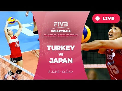 Turkey v Japan - Group 1: 2016 FIVB Volleyball World Grand Prix