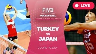 Turkey v Japan - Group 1: 2016 FIVB Volleyball World Grand Prix