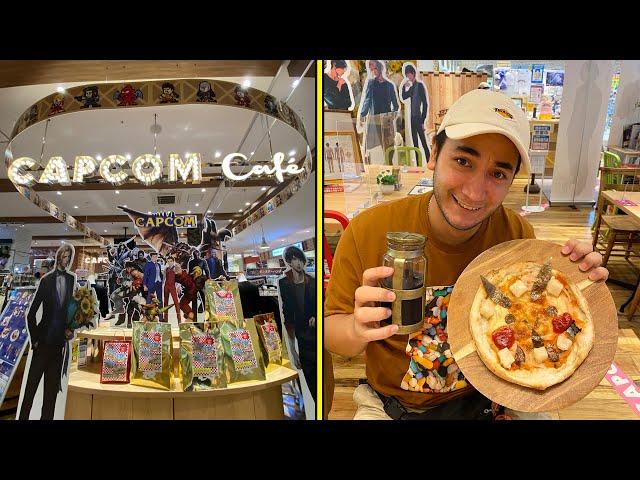 Fuì al RESTAURANTE de CAPCOM en JAPON ! cafè y Tienda temàtico de capcom