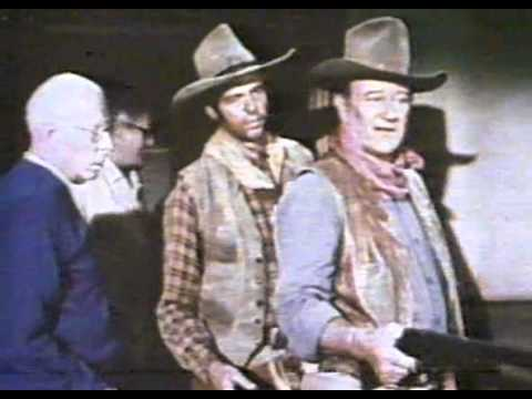 "JOHN WAYNE & HOWARD HAWKS ON SET OF - ""RIO LOBO"" - THE MAKING OF"