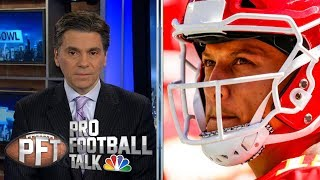Why Patrick Mahomes deserves MVP over Drew Brees | Pro Football Talk | NBC Sports