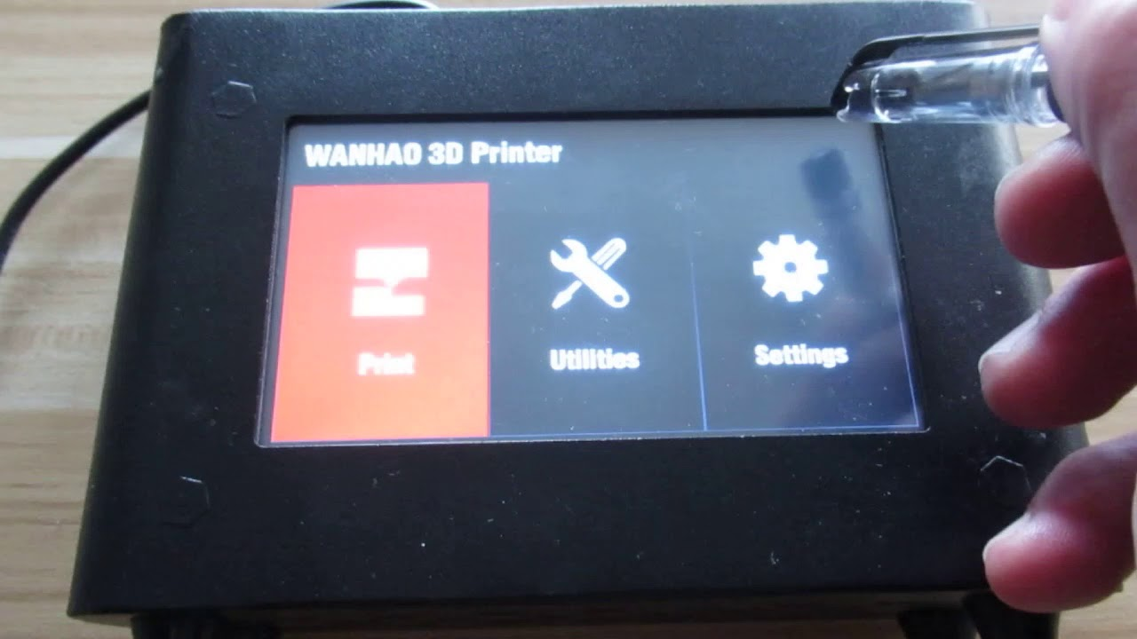 D7 Box / D7 Plus touch screen Calibration