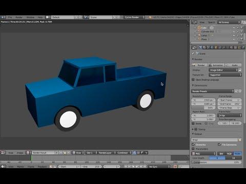 Blender tutorial beginner model a simple house (1) by vscorpianc.