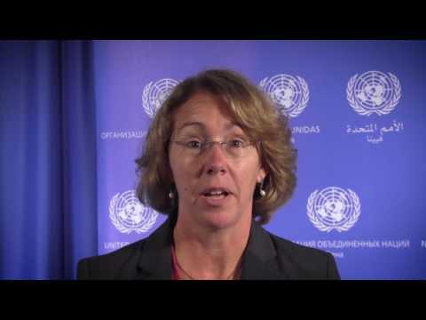 """Sandy Magnus on UNOOSA-UN Women """"Space for Women"""" Expert Meeting"""