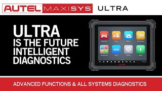 Autel Maxisys Ultra Introduction - VCMI / Topology / Repair Assist