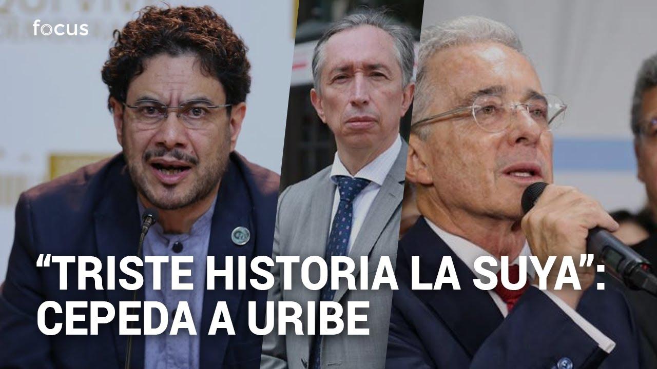 Dura reacción de Iván Cepeda por decisión de la Fiscalía que favorece a Uribe