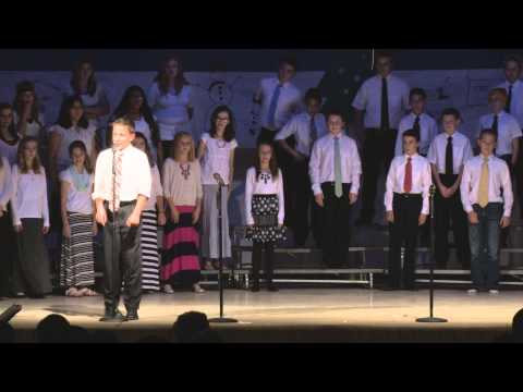 Thatcher Middle School Choirs Christmas 2014