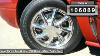 2003 Buick LeSabre Weatherford TX Q3U250370