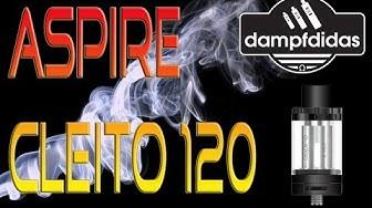 Aspire Cleito 120 Da geht was! Test Deutsch