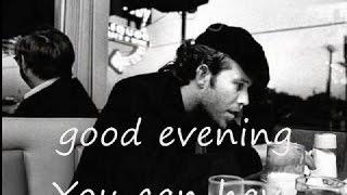 Tom Waits - Invitation to the Blues (lyrics on clip)