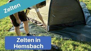 Zelten auf dem Campingplatz Wiesensee in Hemsbach | NWGM | KW 40
