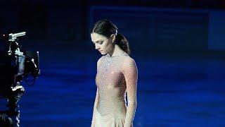 Evgenia Medvedeva Exhibition RusNats 2021 Echo of love Евгения Медведева показательные