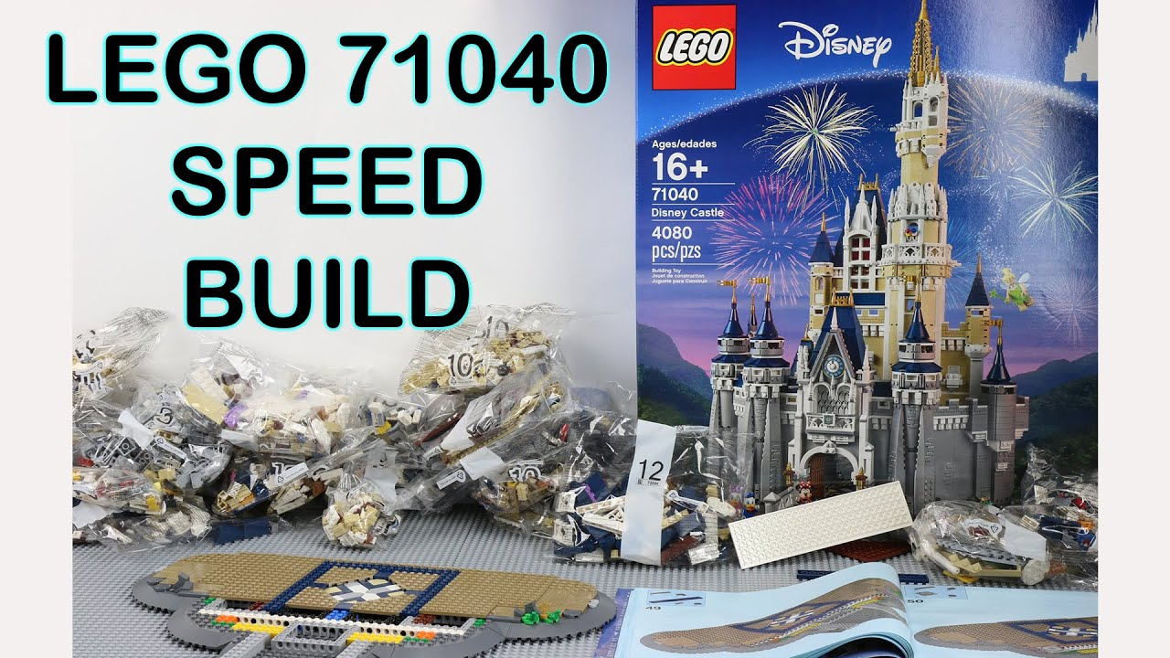 V Mouse Guide LEGO 71040 Speed Build...