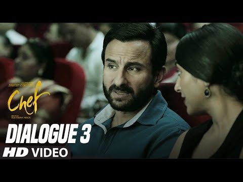 I Am Adorable: Chef (Dialogue Promo 3) | Saif Ali Khan | Padmapriya