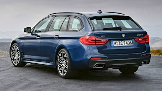 2017 BMW 5 Series Touring xDrive, M Sport Package - Dynamic Excellence