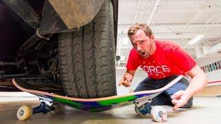 ReVive Skateboards Strength Test / CAR PARKED ON TOP!