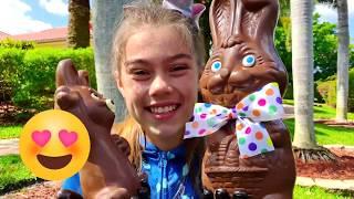Nastya, Artem và Mia - một câu chuyện cho trẻ em về bàn tay sô cô la
