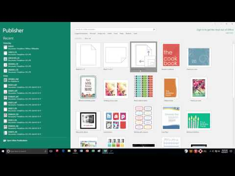 Publisher: Page Design and Layout Guidelines