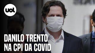 CPI da Covid ouve Danilo Trento, diretor da Precisa sobre negociação suspeita da vacina Covaxin