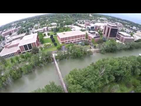 The FLOODING Boise River at Julia Davis Park 2017